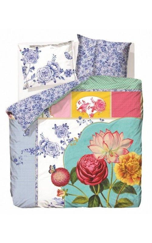 pip royal porcelaine multi dekbedovertrek. Black Bedroom Furniture Sets. Home Design Ideas