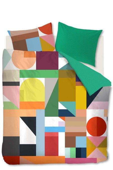 Auping Cubist Multi dekbedovertrek